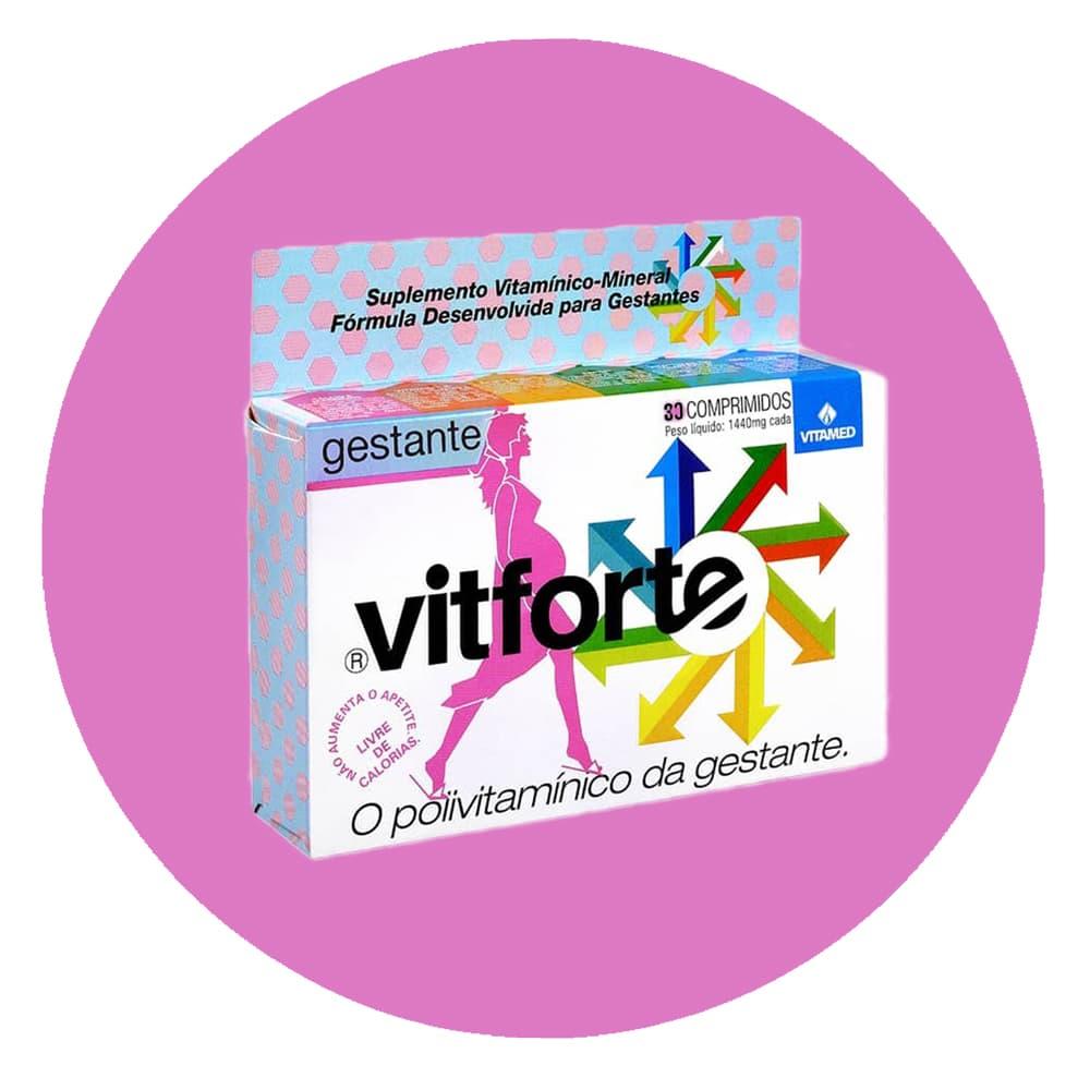 Vitaminas para Gestantes Vitforte
